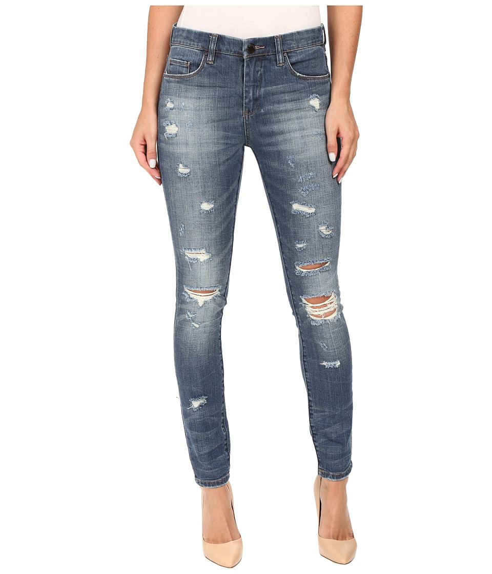 Blank NYC Denim Distressed Skinny in So Called Life (Blue) Women