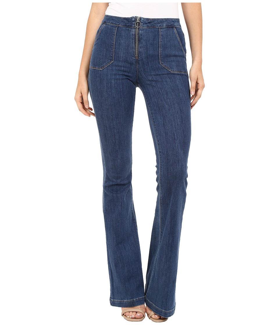 Paige - High Rise Bell Canyon w/ Center Front Ring Zip and Pork Chop Pockets in Tayden (Tayden) Women's Jeans