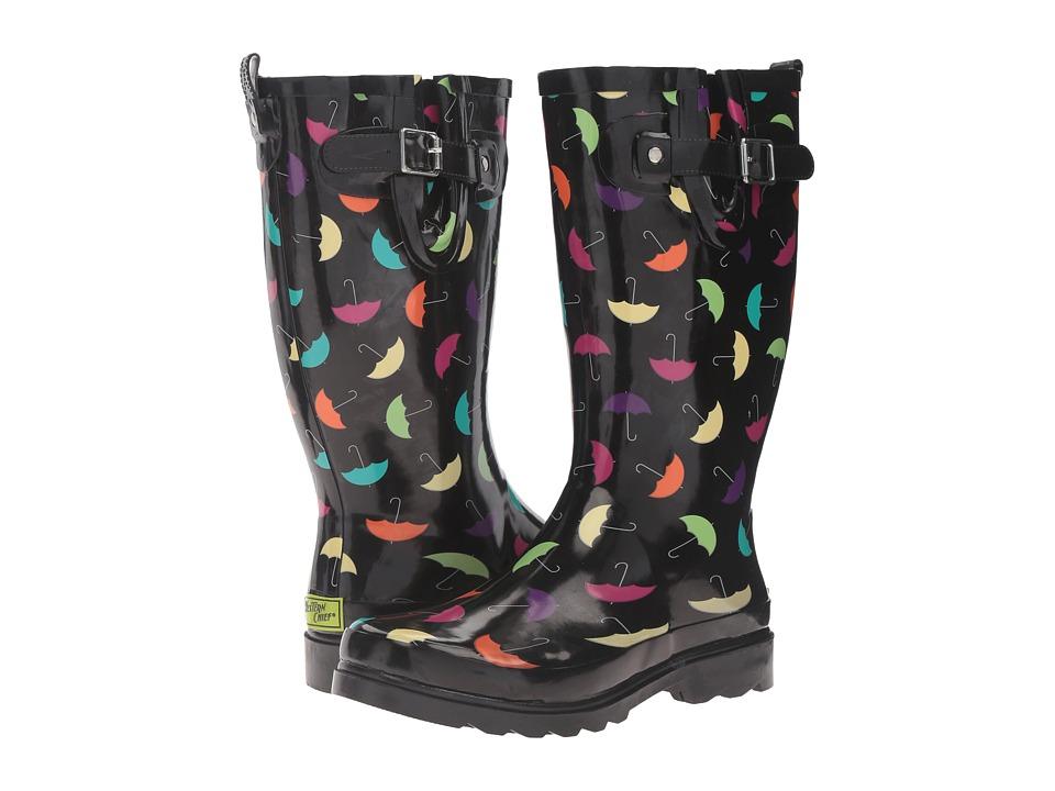 Western Chief - Umbrella Days (Black) Women's Shoes
