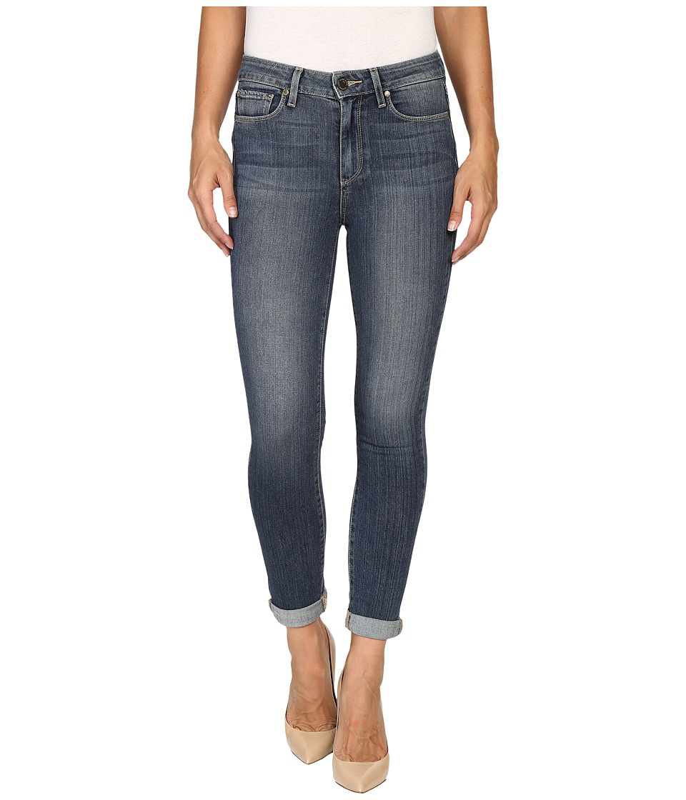 Paige - Hoxton Crop Roll Up in Fletcher (Fletcher) Women's Jeans