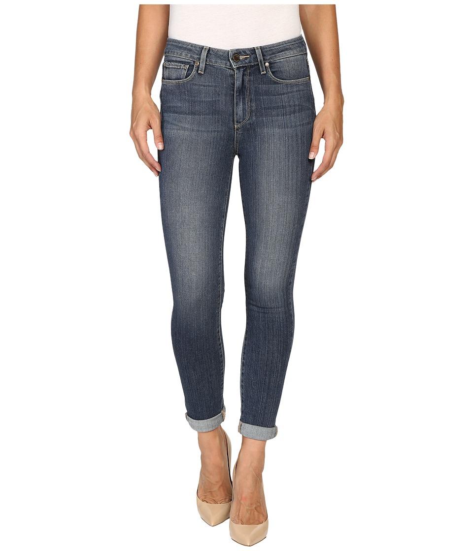 Paige - Hoxton Crop Roll Up in Fletcher (Fletcher) Women's Jeans