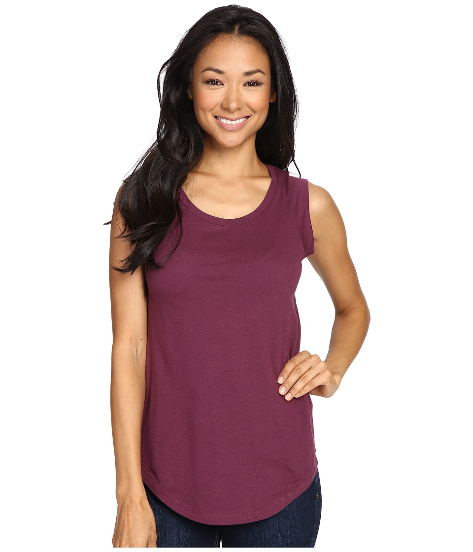 Alternative - Cap Sleeve Crew (Aubergine) Women's T Shirt
