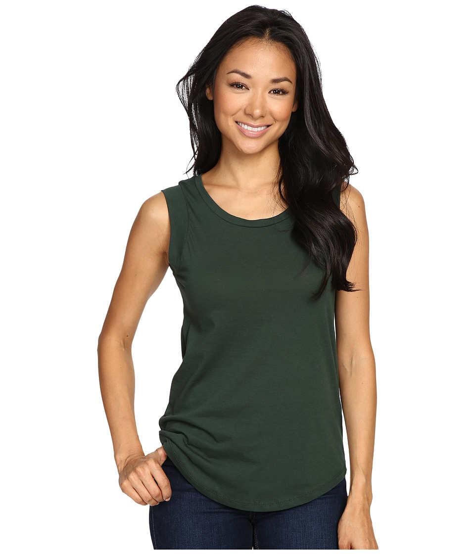 Alternative - Cap Sleeve Crew (Fir Green) Women's T Shirt