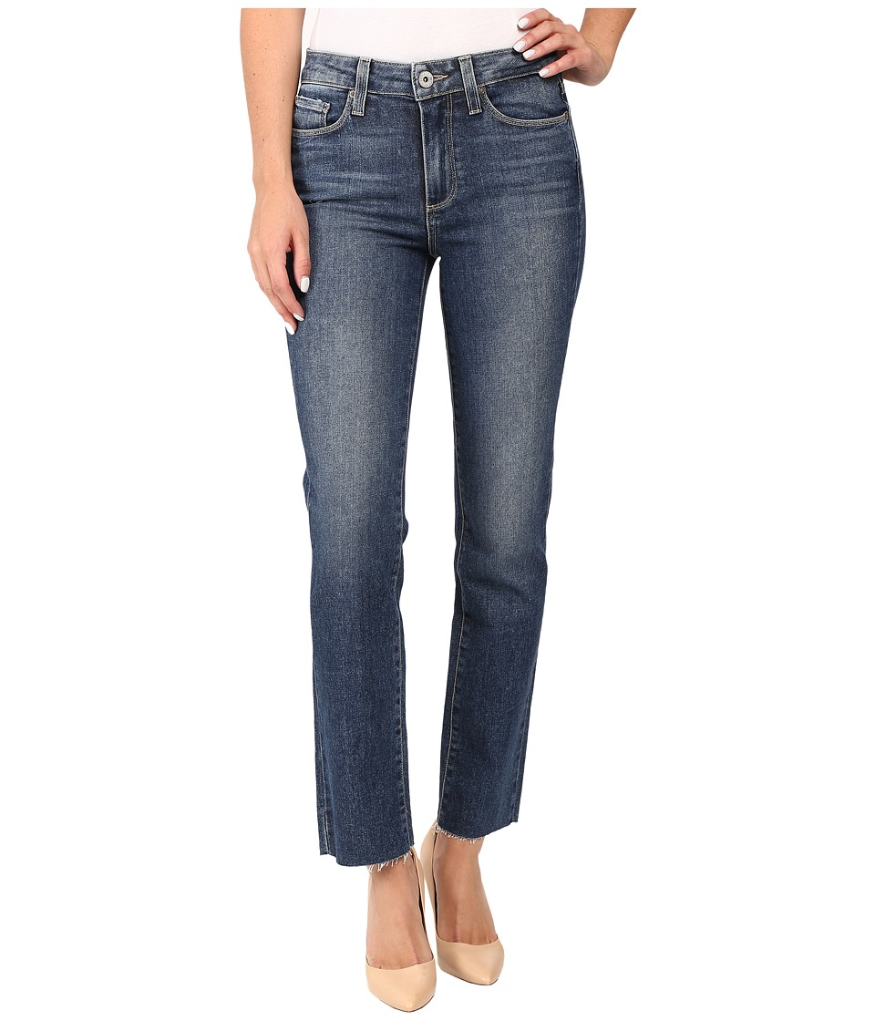 Paige - Jacqueline Straight w/ Raw Hem in Axel (Axel) Women's Jeans