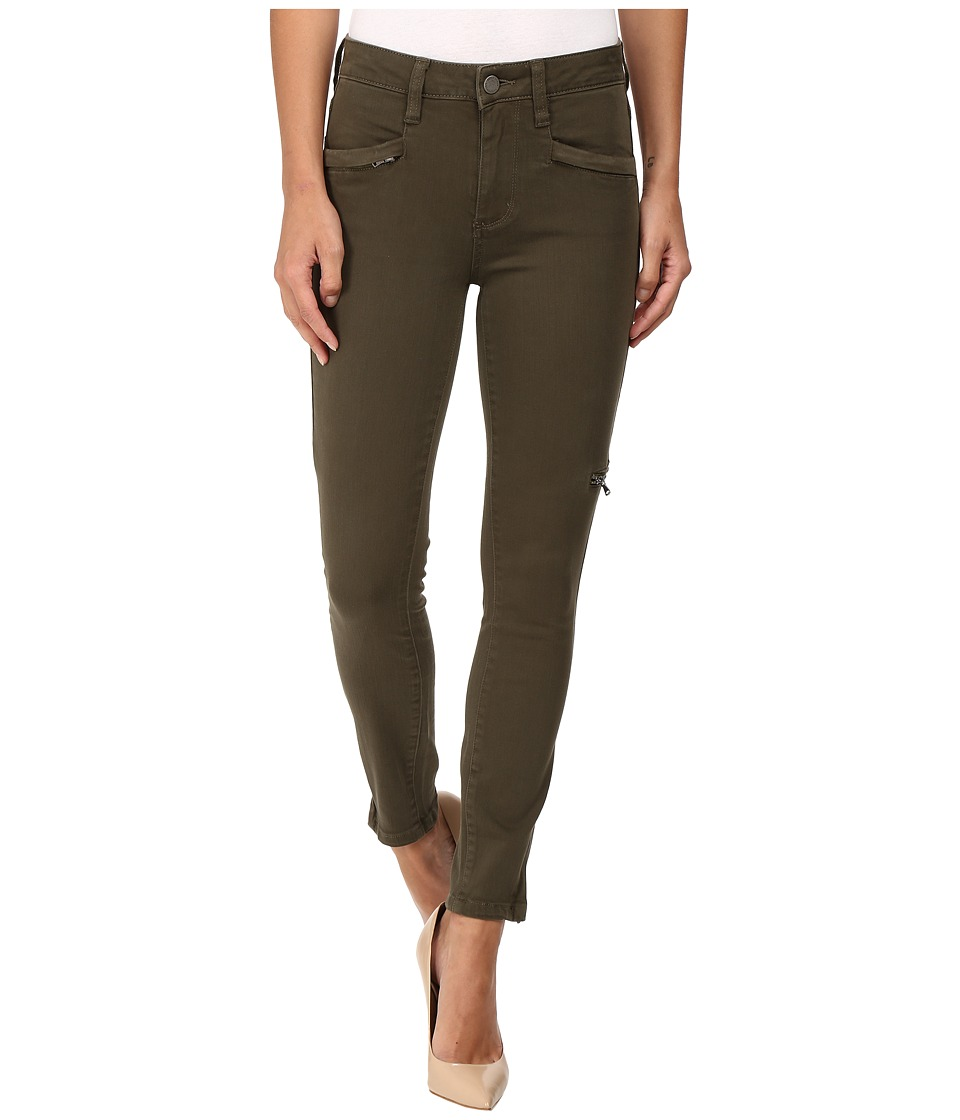 Paige - Daryn Zip Ankle in Olive Leaf (Olive Leaf) Women's Jeans