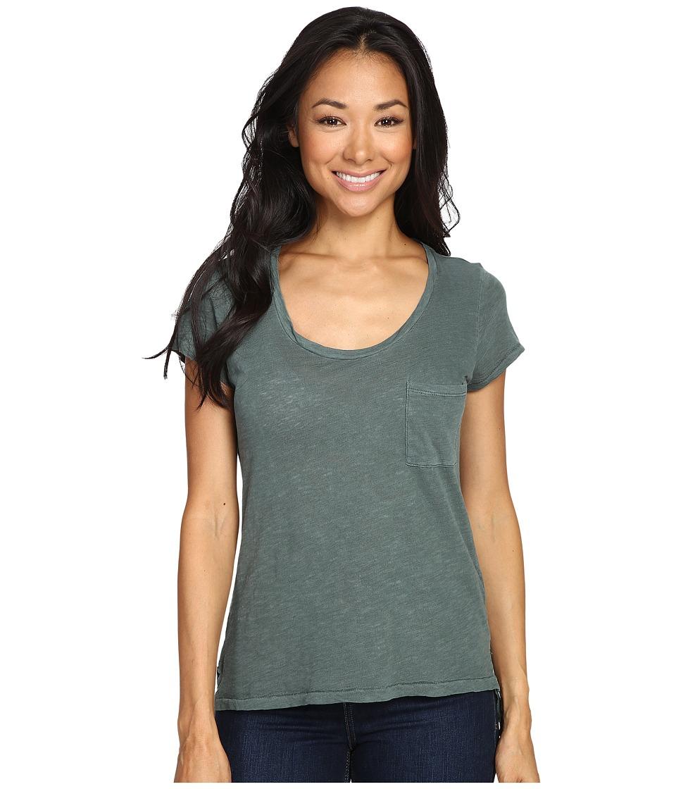 Alternative - Slub Favorite Tee (Dusty Pine) Women's T Shirt