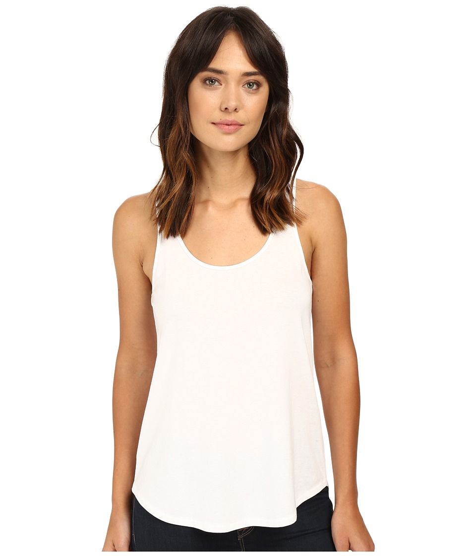 Alternative - Organic Pima Daily Tank Top (White) Women's Sleeveless
