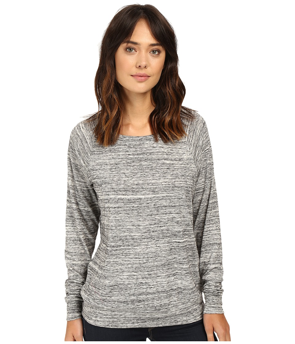 Alternative - Eco Jersey Slouchy Pullover (Urban Grey) Women's Clothing