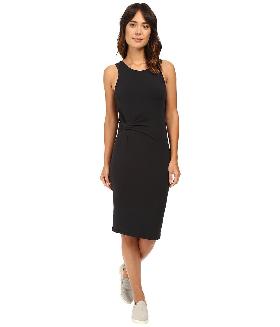 Alternative - Spandex Jersey Downtown Tank Dress (Black) Women's Dress