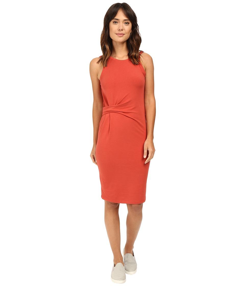Alternative Spandex Jersey Downtown Tank Dress (Marsala) Women