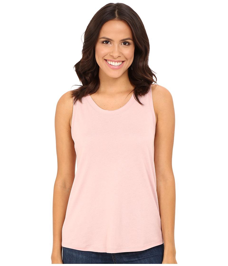 Alternative - Cotton Modal Muscle Tee (Rose Quartz) Women's Clothing