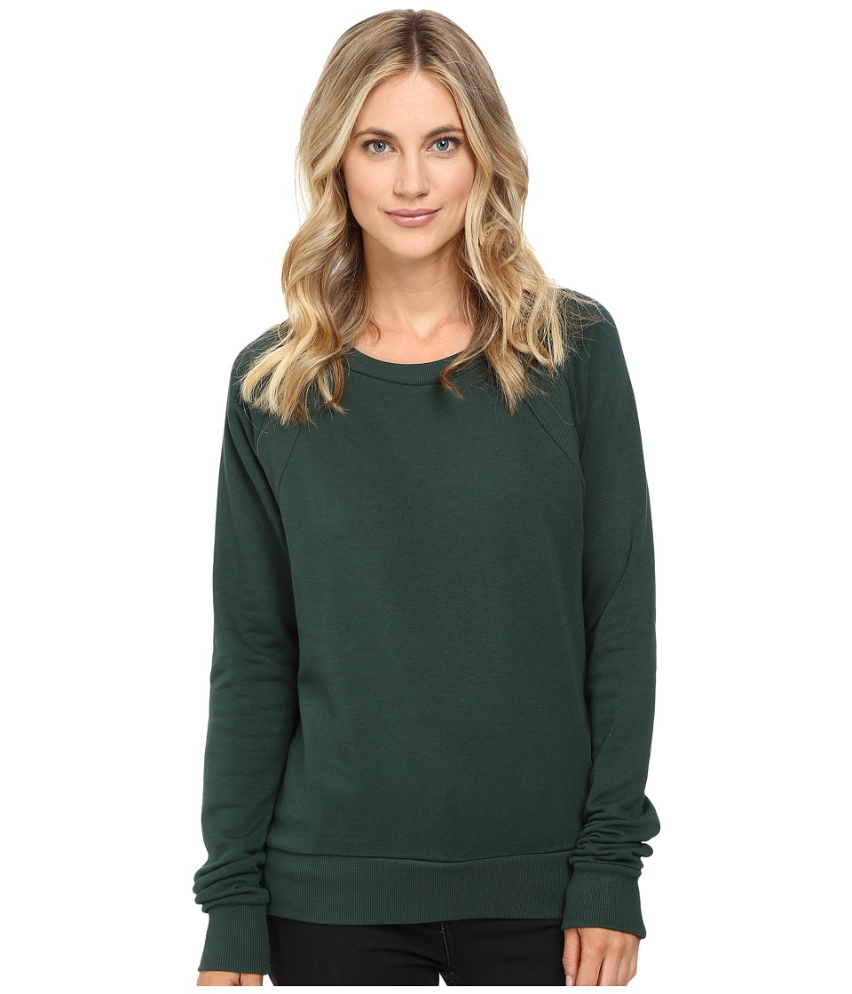 Alternative - Modal Fleece High Street Pullover (Fir Green) Women's Clothing