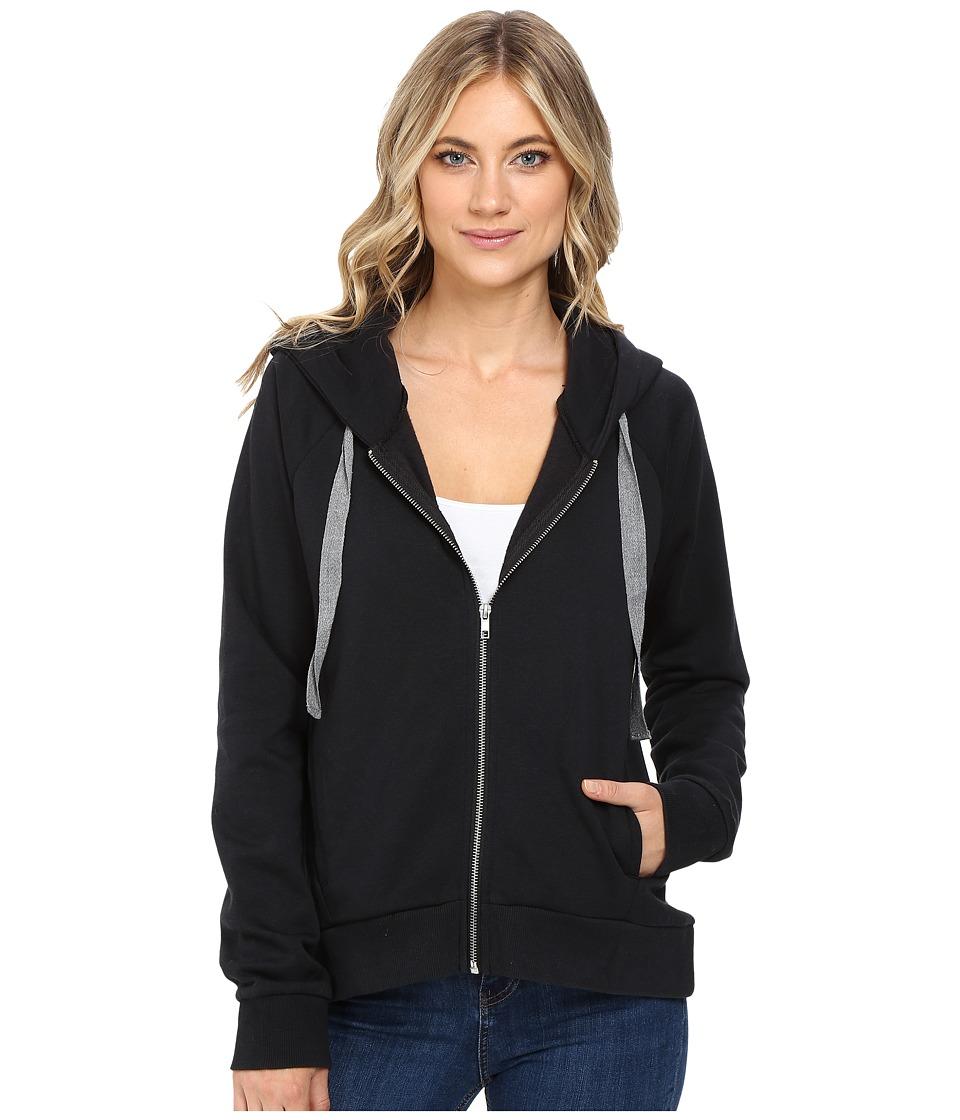 Alternative - Modal Fleece Caroline Hoodie (Smoke) Women's Sweatshirt