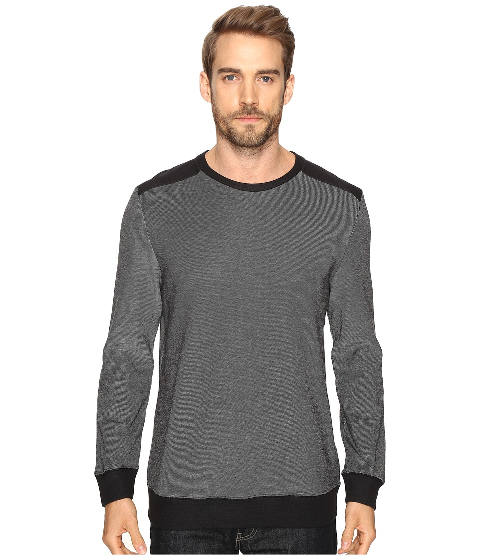 Threads 4 Thought - The Marnoco Crew Sweater (Black) Men's Sweater