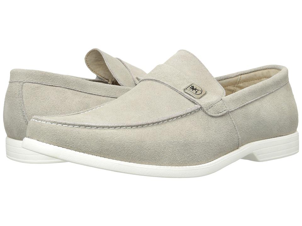 Stacy Adams - Caspian (Cement) Men's Slip on Shoes