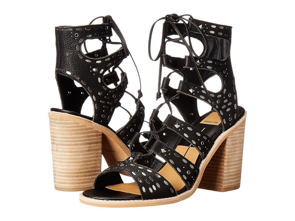 Dolce Vita - Lyndie (Black Leather) Women's Shoes