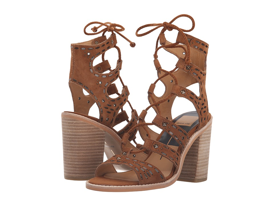 Dolce Vita - Lyndie (Dark Saddle Suede) Women's Shoes