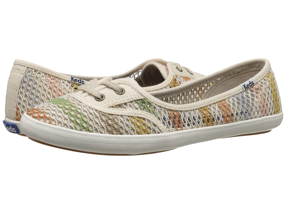 Keds - Teacup Crotchet (Natural/Multi) Women's Shoes