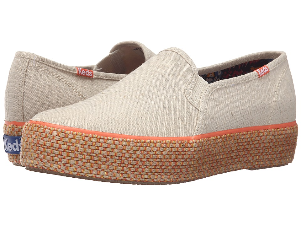 Keds - Triple Deck Liberty Linen (Natural) Women