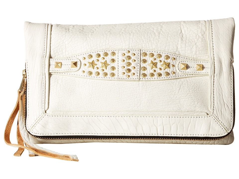 ASH - Jax Clutch (White) Clutch Handbags