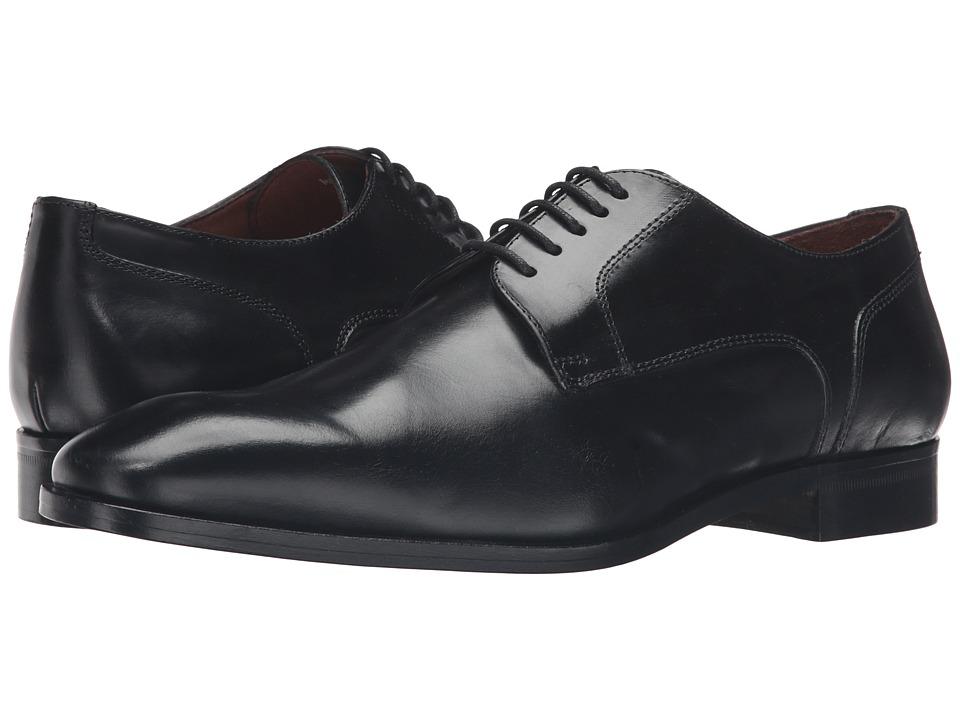 Massimo Matteo - 5-Eye Blucher (Black) Men's Shoes