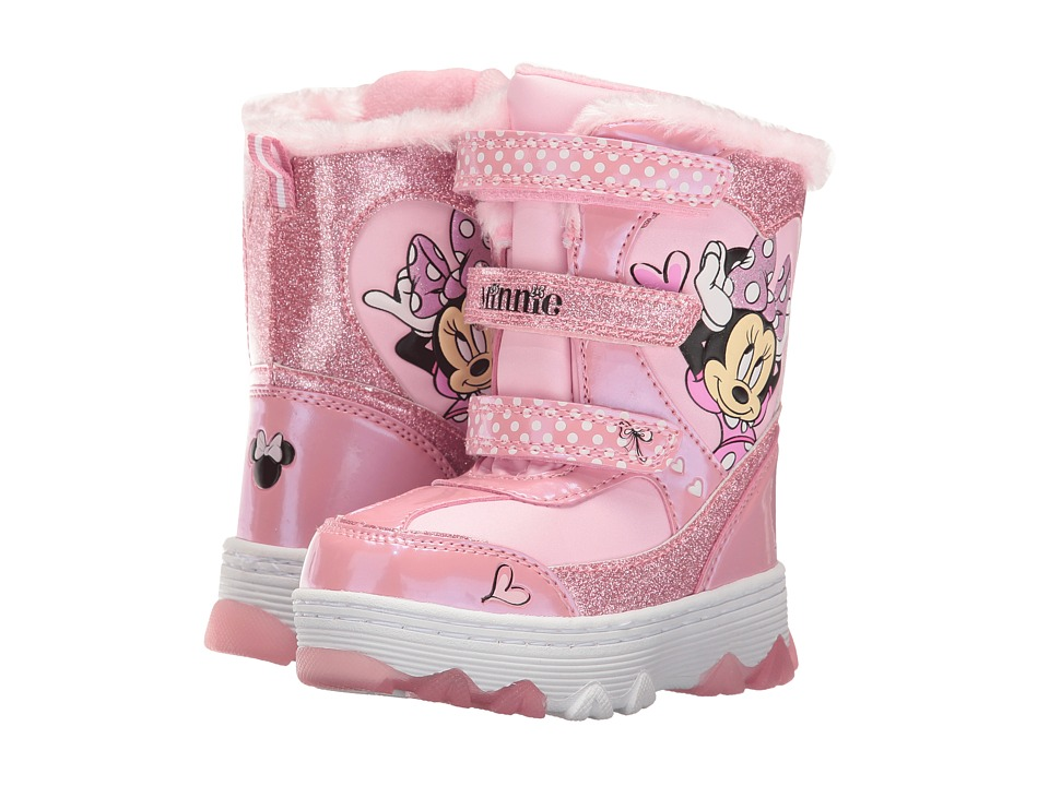 Josmo Kids - Minnie Snow Boot (Toddler/Little Kid) (Pink) Girls Shoes