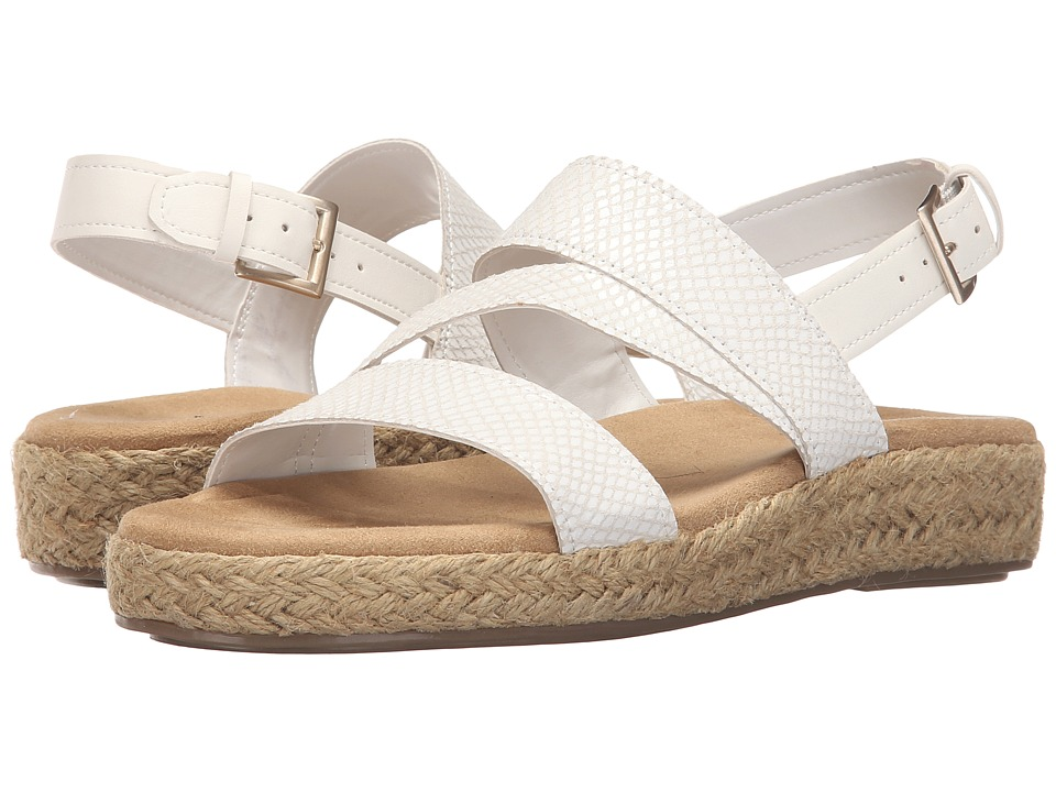 A2 by Aerosoles Globetrotter (White Snake) Women