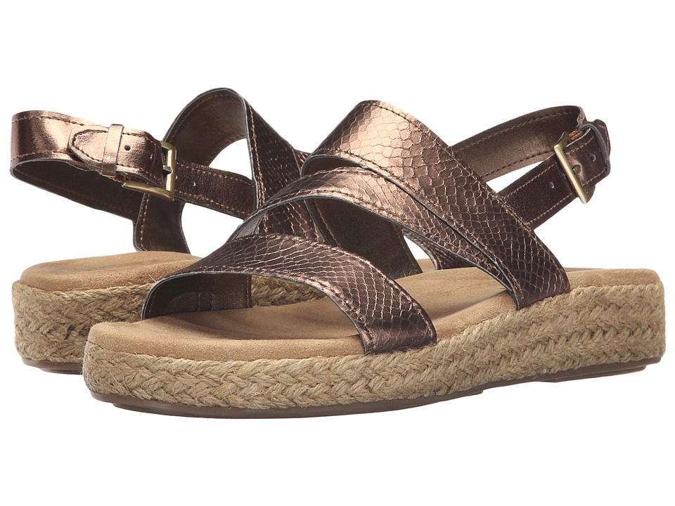 A2 by Aerosoles Globetrotter (Bronze Snake) Women