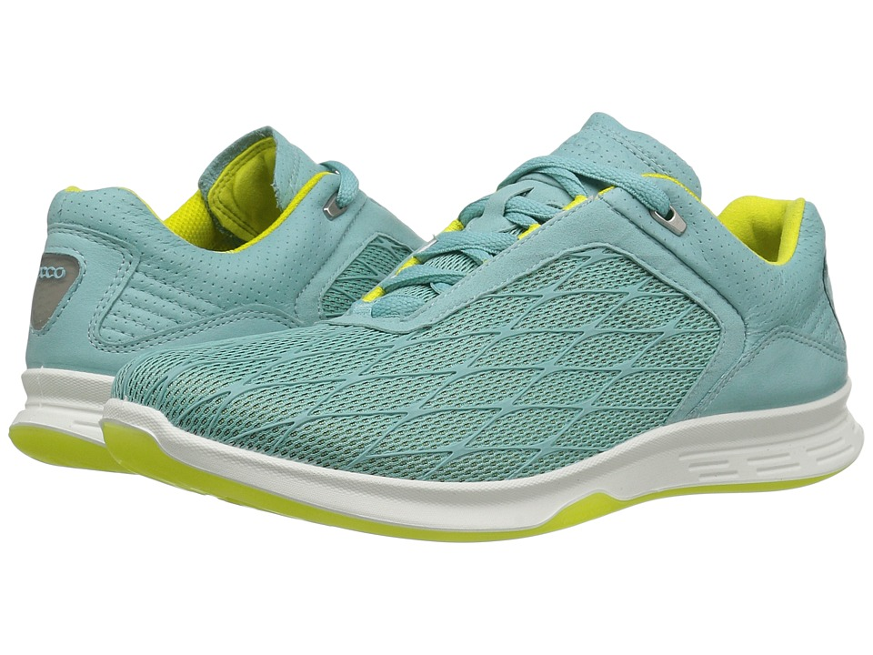 ECCO Sport - Exceed Sport (Aquatic/Aquatic/Sulphur) Women's Running Shoes