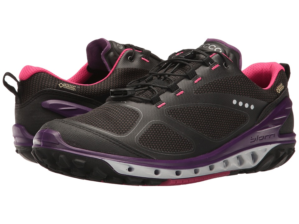 ECCO Sport - Biom Venture GTX (Black/Titanium/Imperial Purple) Women's Sandals