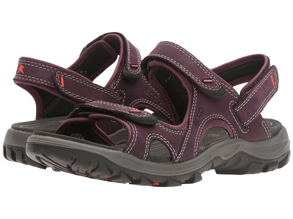 ECCO Sport - Offroad Lite (Mauve/Black) Women's Sandals