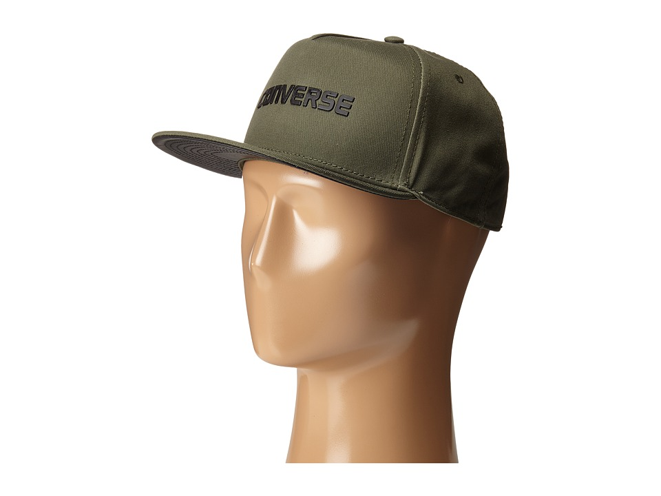 Converse - Rubber TPU Snapback Cap (Herbal) Caps