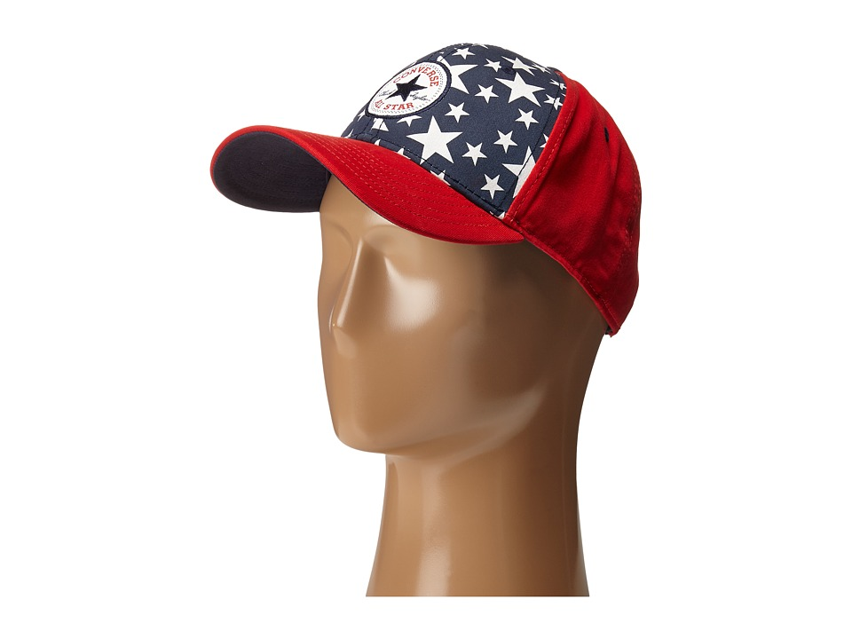 Converse - Snapback All Star Cap (Navy/Red) Caps