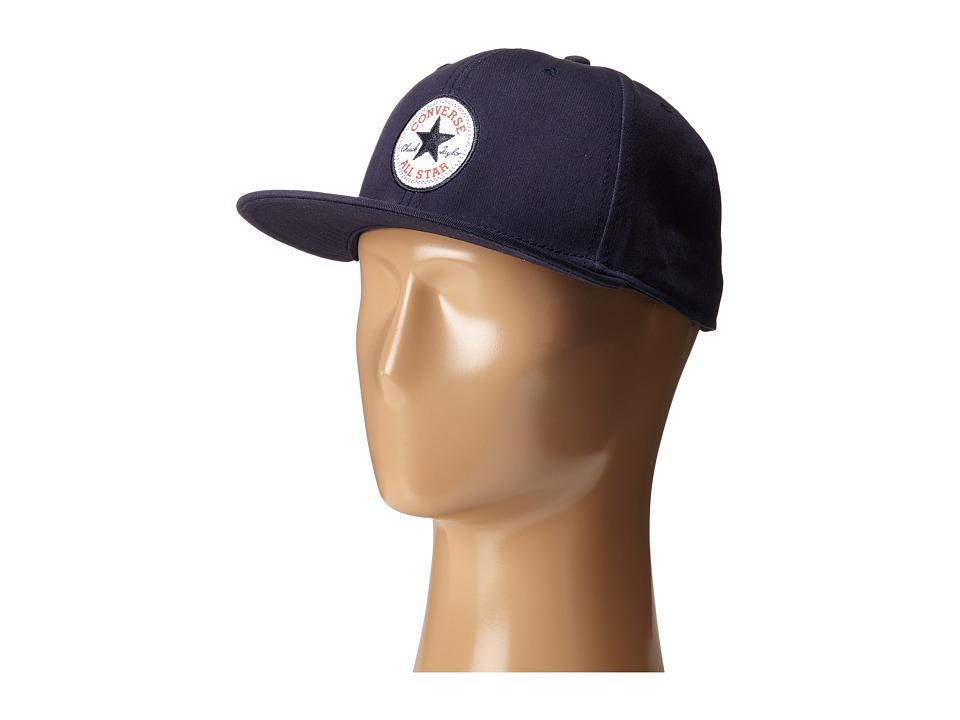 Converse - Core Snapback Twill Cap (Converse Navy) Caps