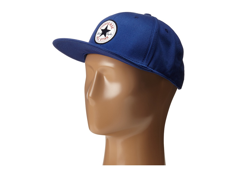 Converse - Core Snapback Twill Cap (Roadtrip Blue) Caps