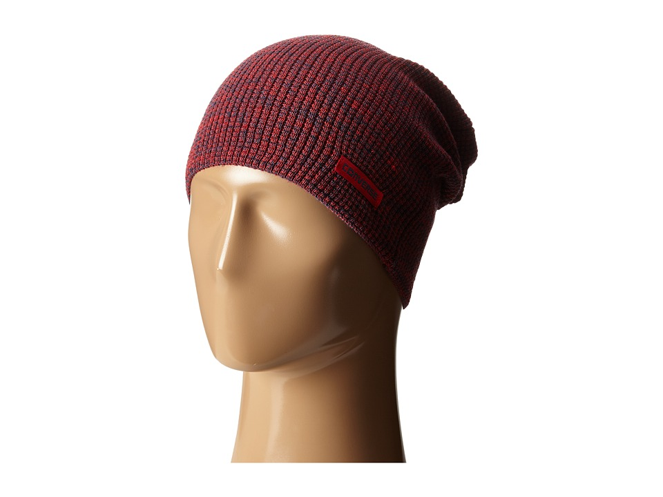 Converse - Twisted Waffle Knit Beanie (Converse Red) Beanies