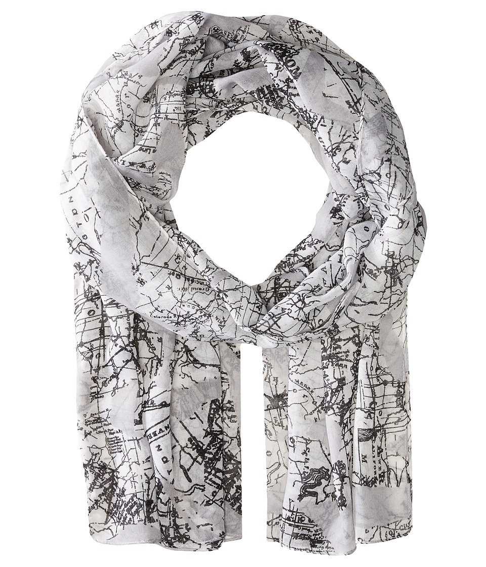 Converse - Pattern Scarf (Converse White) Scarves