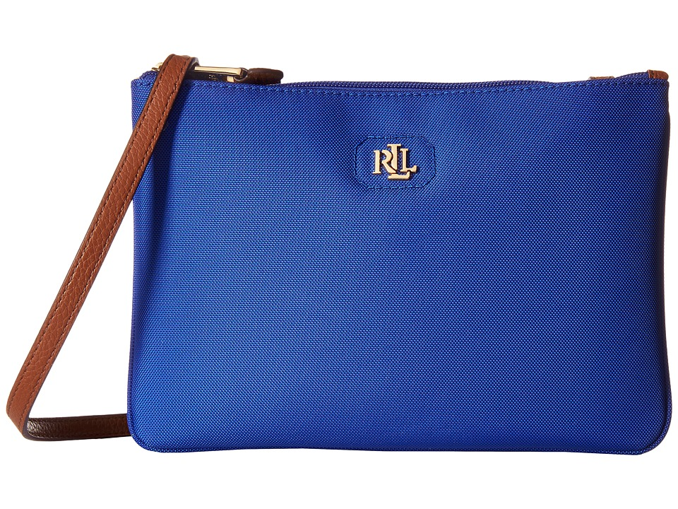 LAUREN Ralph Lauren - Tara Crossbody (Pacific Blue) Cross Body Handbags