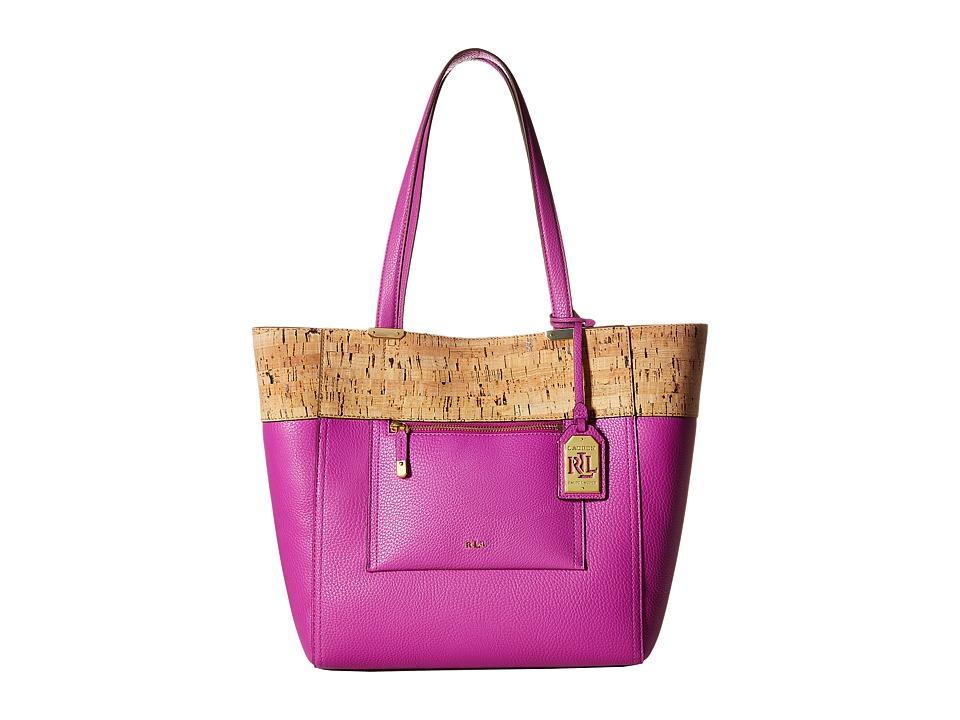 LAUREN Ralph Lauren - Lauryn Tote (Bright Orchid) Tote Handbags