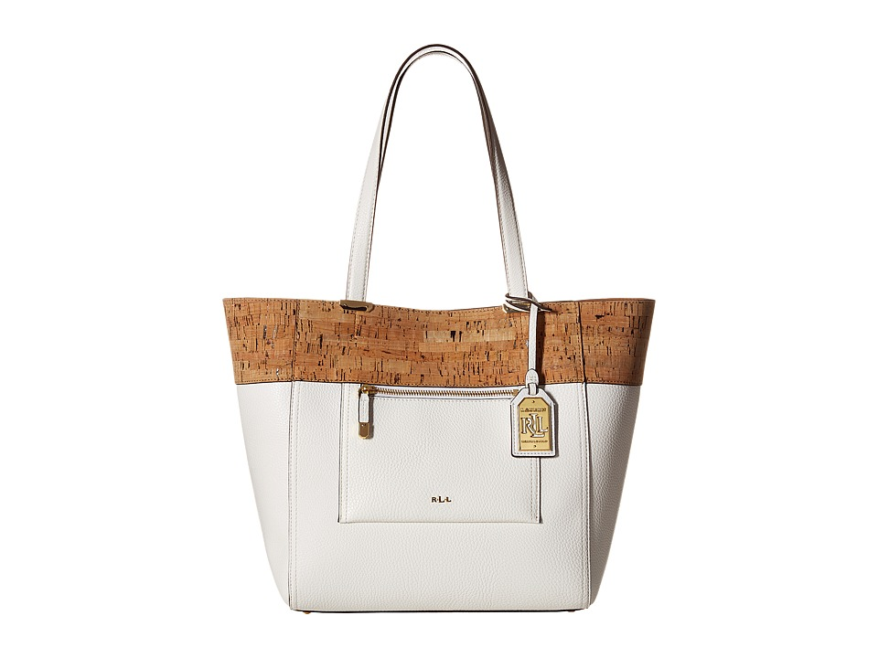 LAUREN Ralph Lauren - Lauryn Tote (Vanilla) Tote Handbags