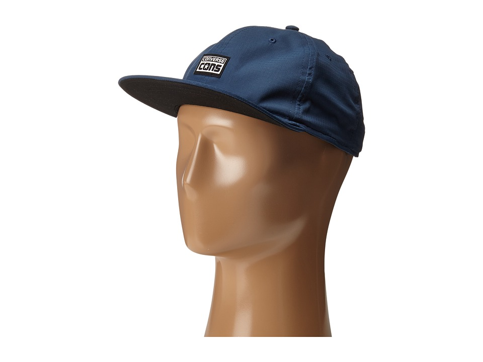 Converse - Cons Canvas Deconstructed Cap (Converse Navy) Caps