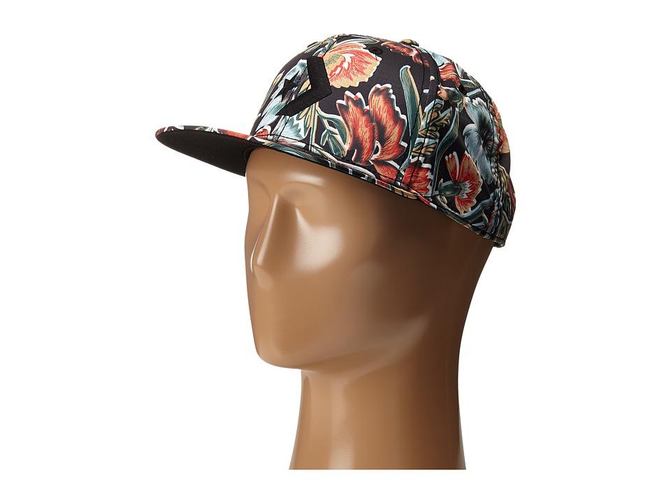 Converse - Cons Floral Snapback Cap (Floral) Caps