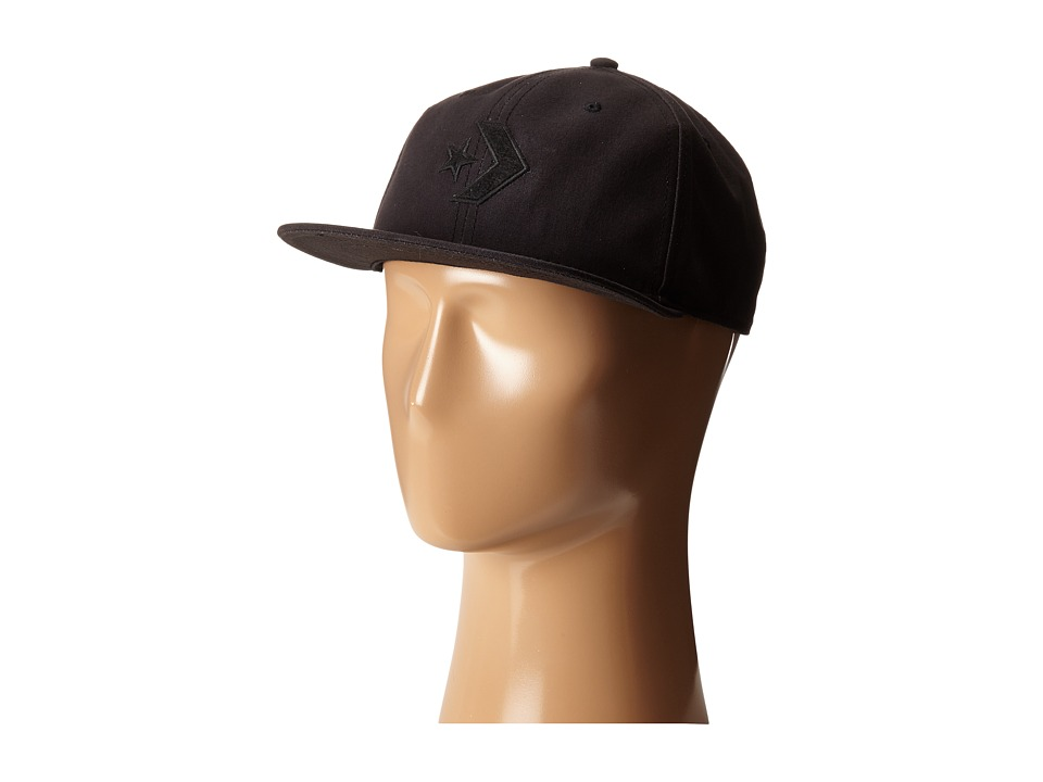 Converse - Cons Canvas Deconstructed Cap (Black) Caps
