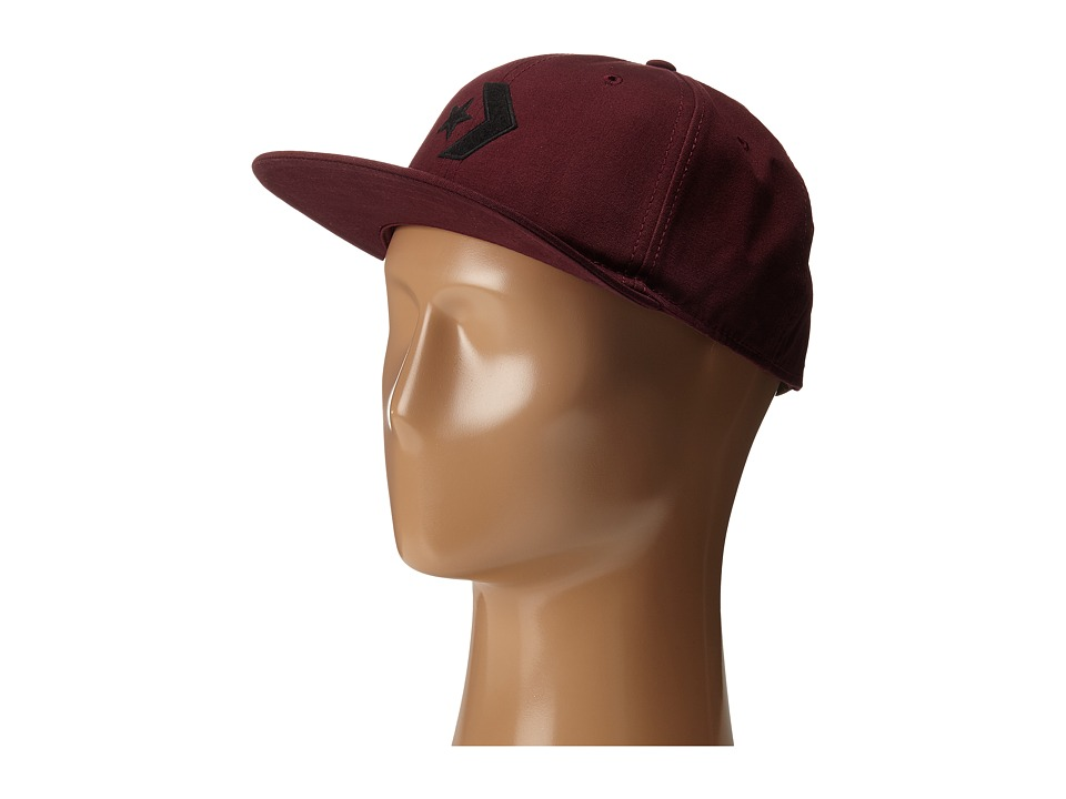 Converse - Cons Canvas Deconstructed Cap (Black Cherry) Caps