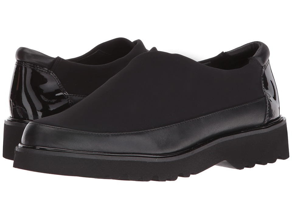 Donald J Pliner - Carly (Black Crepe) Women's Shoes