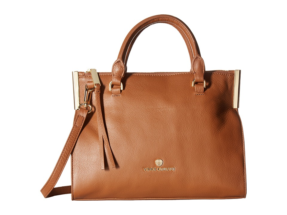 Vince Camuto - Tina Small Satchel (Russet) Satchel Handbags