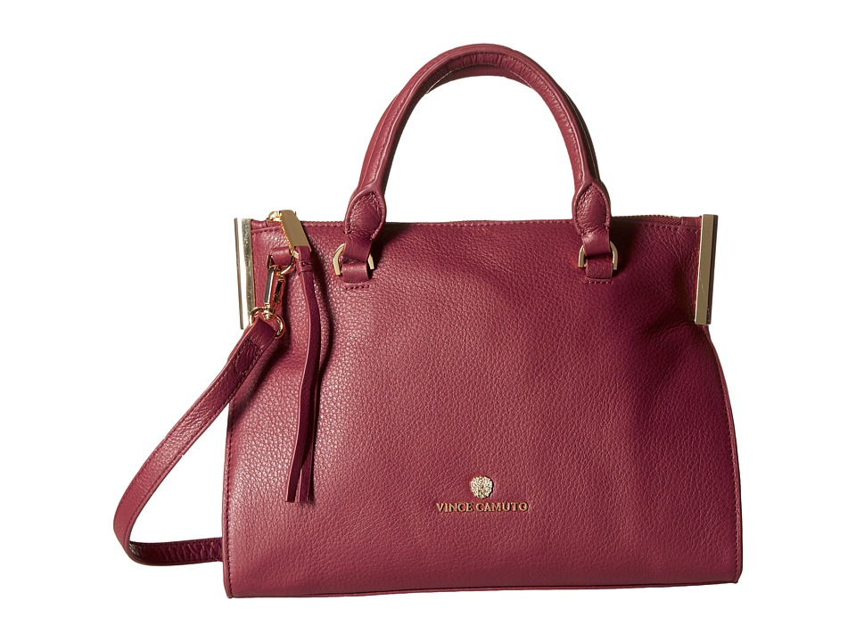 Vince Camuto - Tina Small Satchel (Malbec) Satchel Handbags