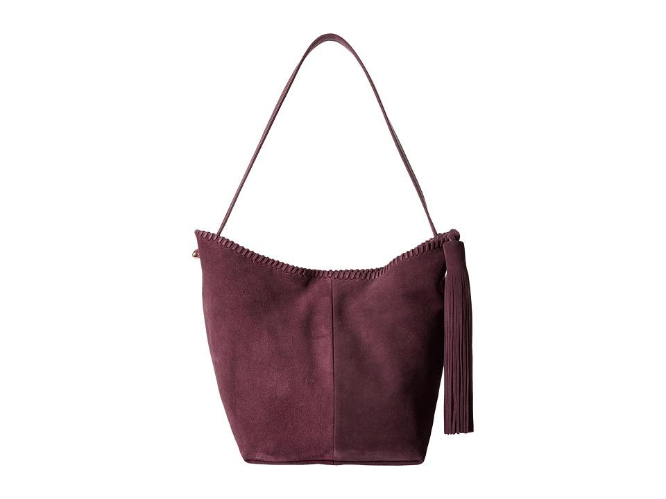Vince Camuto - Aiko Hobo (Plum) Hobo Handbags