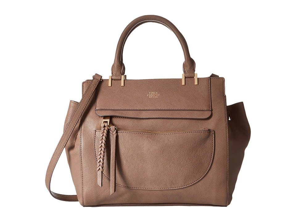 Vince Camuto - Ayla Satchel (Smokey Quart) Satchel Handbags