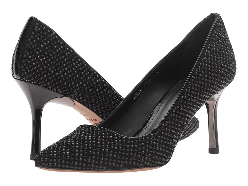 Donald J Pliner - Treva SP (Black Kid Suede) Women's Shoes